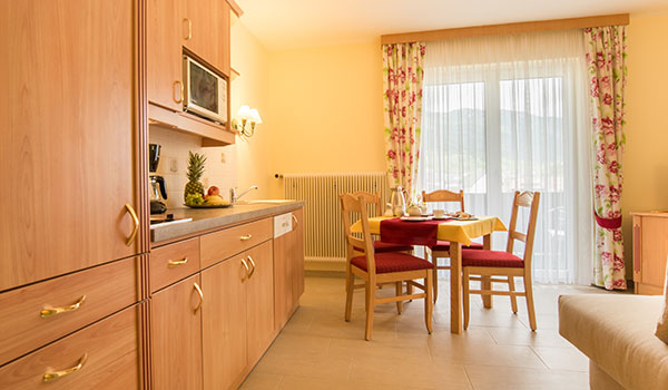 Apartments for 2 - 4 persons