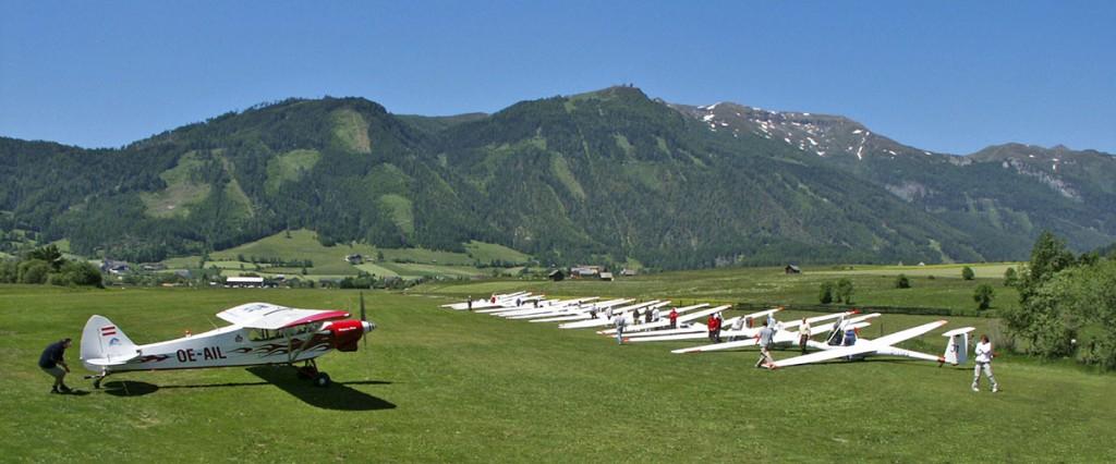 Flugsport - Mauterndorf - Lungau - Pension Firn Sepp