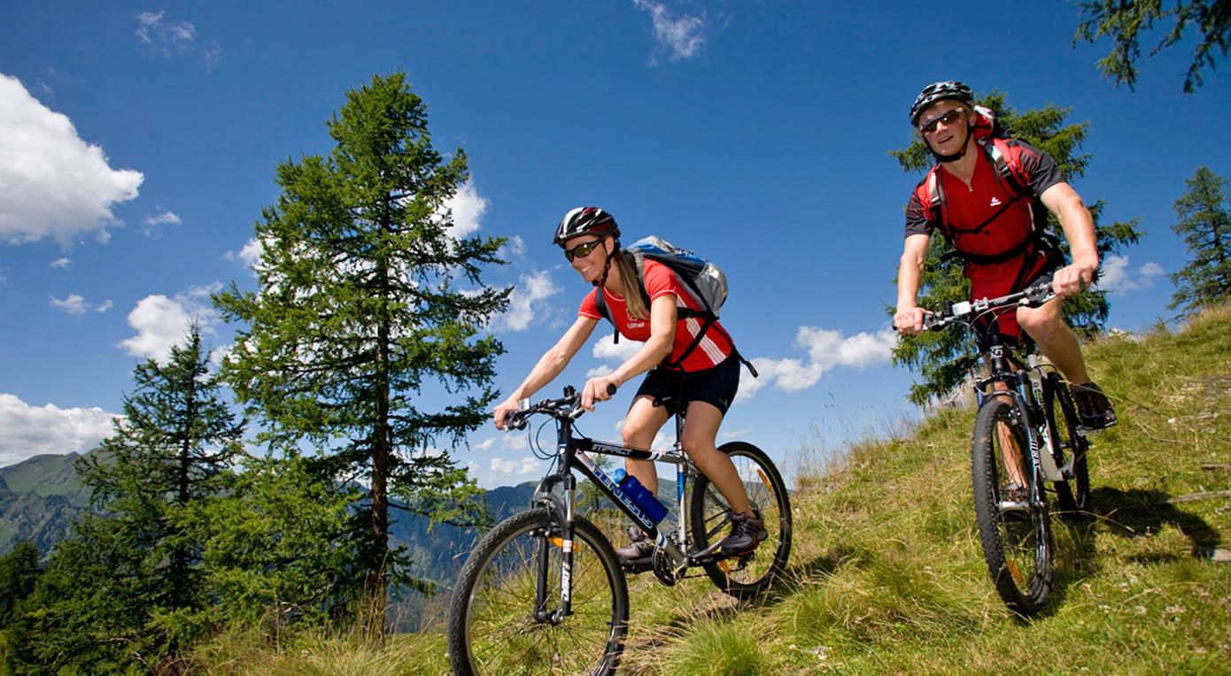 Sommer Rad fahren Mauterndorf Lungau